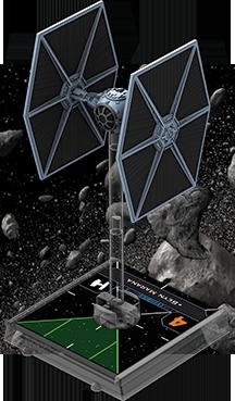 Figurine du vaisseau Chasseur TIE/ln