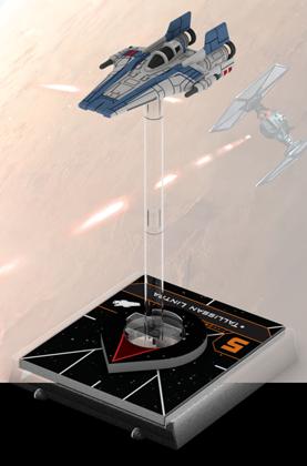 Figurine du vaisseau A-wing RZ-2