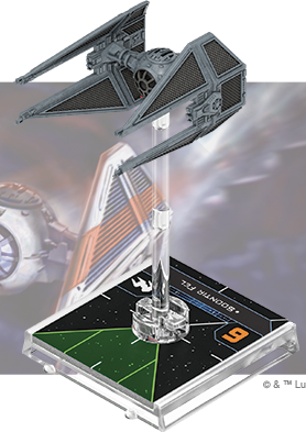 Figurine du vaisseau Intercepteur TIE/in