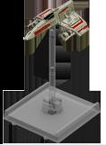 Figurine du vaisseau E-Wing