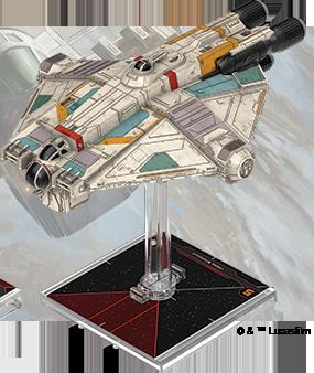 Figurine du vaisseau Cargo léger VCX-100