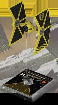 Figurine du vaisseau Chasseur TIE/ln modifié
