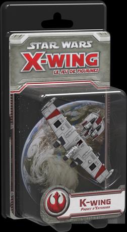 Boite du paquet d'extension K-wing