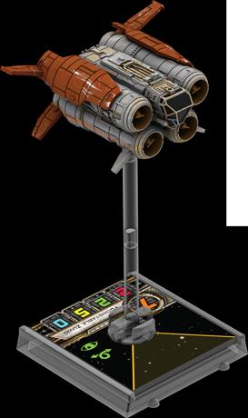 Figurine du vaisseau Quad jumper 1re édition