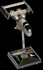 Figurine du vaisseau Chasseur G-1A 1re édition