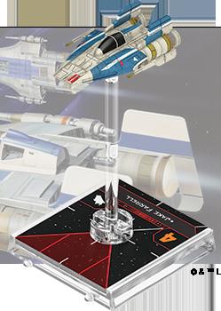 Figurine du vaisseau A-wing RZ-1