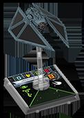 Figurine du vaisseau Tie Striker