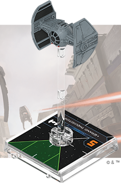Figurine du vaisseau TIE Advanced v1