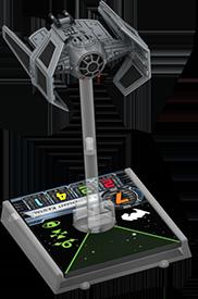 Figurine du vaisseau Tie Aggressor