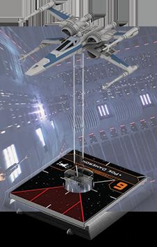 Figurine du vaisseau X-wing T-70