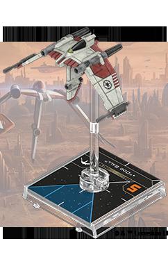 Figurine du vaisseau Chasseurs Torrents V-19