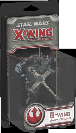 Boite du paquet d'extension B-wing