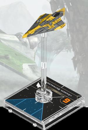 Figurine du vaisseau Aethersprite Delta-7