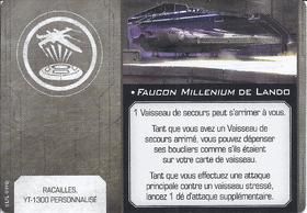 Carte d'amélioration • Faucon Millenium de Lando