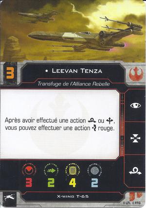 carte du pilote Leevan Tenza