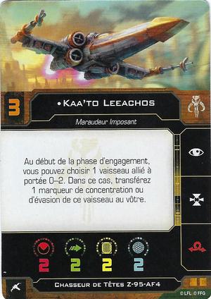 carte du pilote Kaa'to Leeachos