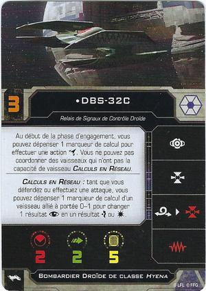 carte du pilote DBS-32C