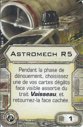 Carte d'amélioration Astromech R5