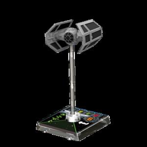 Figurine du vaisseau Tie Advanced