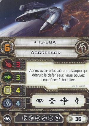 carte du pilote IG-88A