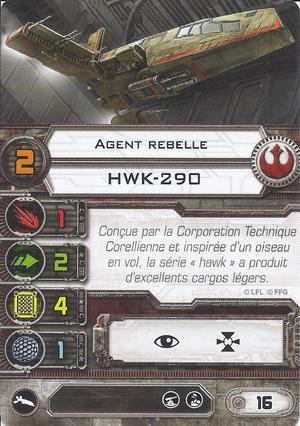 carte du pilote Agent rebelle
