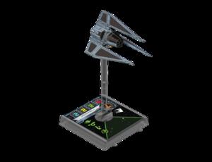 Figurine du vaisseau Tie Fantôme