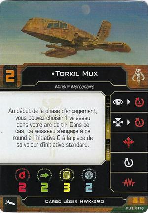 carte du pilote Torkil Mux