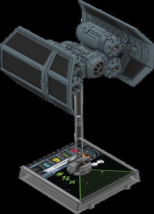 Figurine du vaisseau Tie Punisher