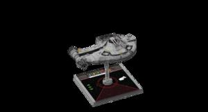 Figurine du vaisseau YT-2400 1re édition