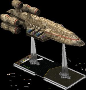 Figurine du vaisseau C-ROC