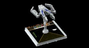 Figurine du vaisseau Aggressor