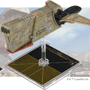 Figurine du vaisseau Cargo léger YV-666