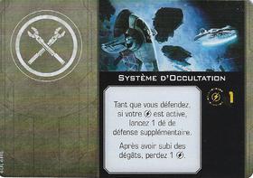 Carte d'amélioration Système d'Occultation