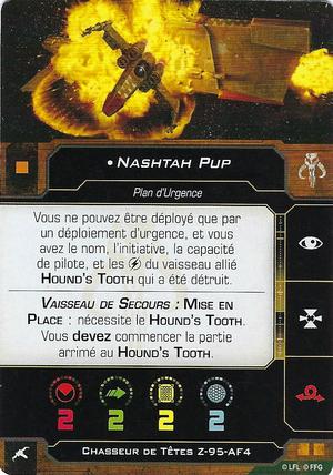 carte du pilote Nashtah Pup