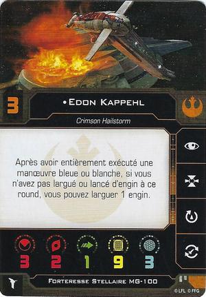 carte du pilote Edon Kappehl