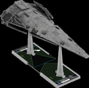Figurine du vaisseau Corvette de classe Raider