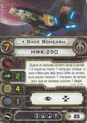 carte du pilote Dace Bonearm