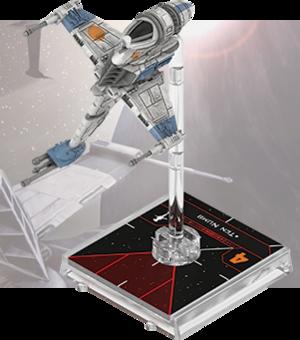 Figurine du vaisseau B-wing A/SF-01