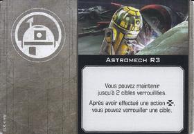 Carte d'amélioration Astromech R3