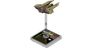 Figurine du vaisseau Intercepteur M3-A