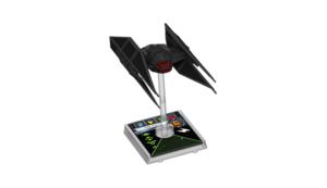Figurine du vaisseau Tie Silencer