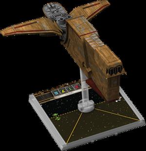 Figurine du vaisseau YV-666