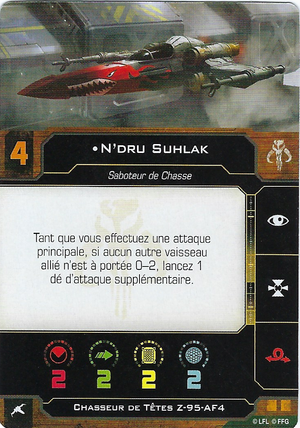 carte du pilote N'dru Suhlak
