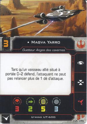 carte du pilote Magva Yarro