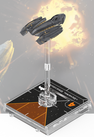 Figurine du vaisseau Chasseur Belbullab-22