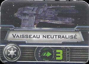 Marqueur de vaisseau neutralisé