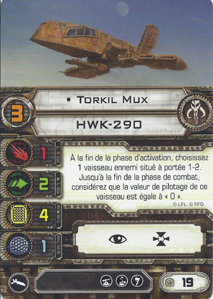 carte du pilote Torkhil Mux