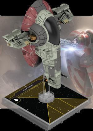 Figurine du vaisseau Patrouilleur de Classe Firespray
