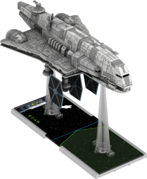Figurine du vaisseau Transport d'Assaut Impérial