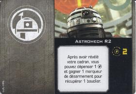Carte d'amélioration Astromech R2